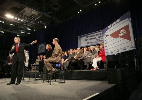 president participates in social security conversation in