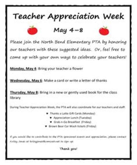letter to parents appreciation week appreciation week letter sle