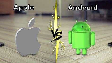 real android apple vs android in real