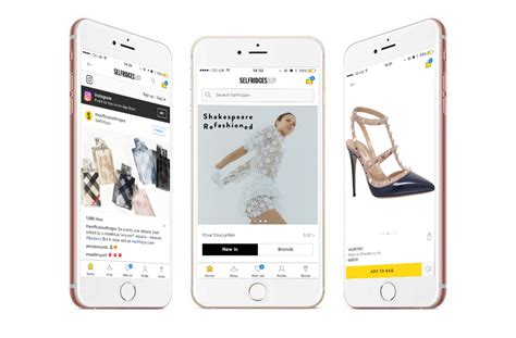 Shopping Apps by Selfridges Launches Social Shopping App Mobile Marketing