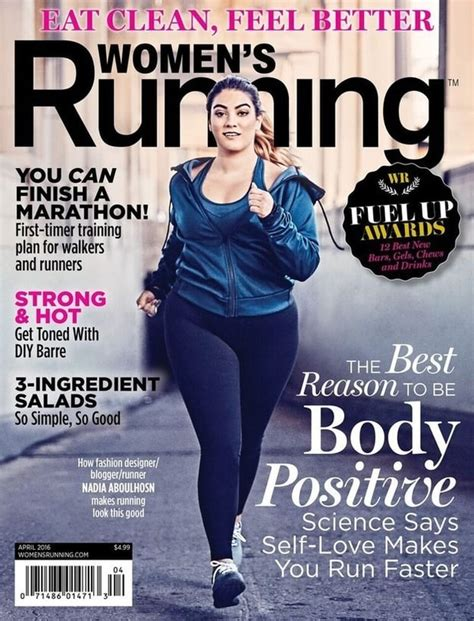 To Be A Magazine Cover Model by S Running Magazine Features Plus Size Model On The