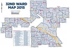 Chicago Ward Map 2015 by General Election November 8th 2016 32nd Ward Alderman