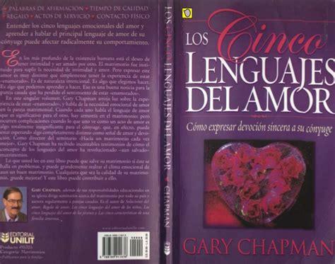 los 5 lenguajes del chapman gary los cinco lenguajes del amor