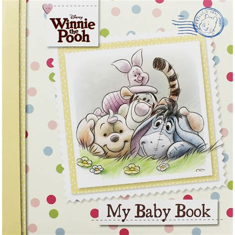 Baby Birth Record Book Winnie The Pooh Baby Record Book By Disney New Baby