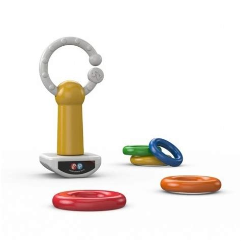 Teether Rattle Fisher Price fisher price rattle rings on the rod baby rattle