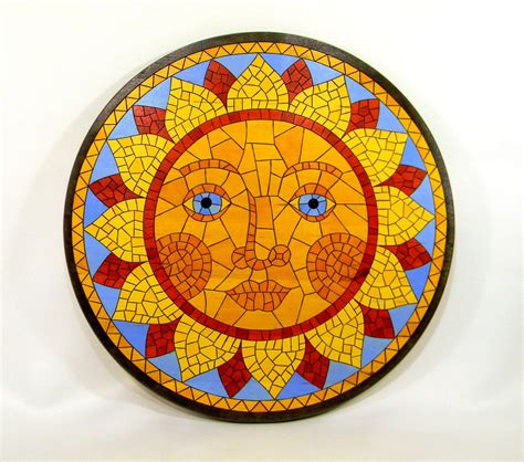 mosaic pattern for sun with makes most great mosaic sun can the to with you 1 a