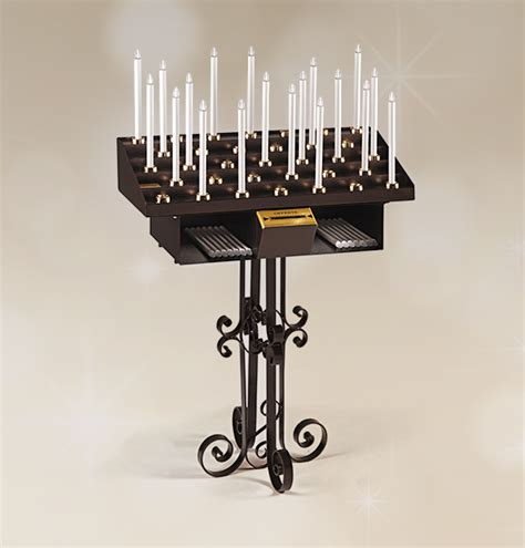 arredi sacri per chiese candeliere artistico 33 accensioni per chiesa votivo
