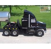 Kenworth Semi Truck Go Kart Without Trailer