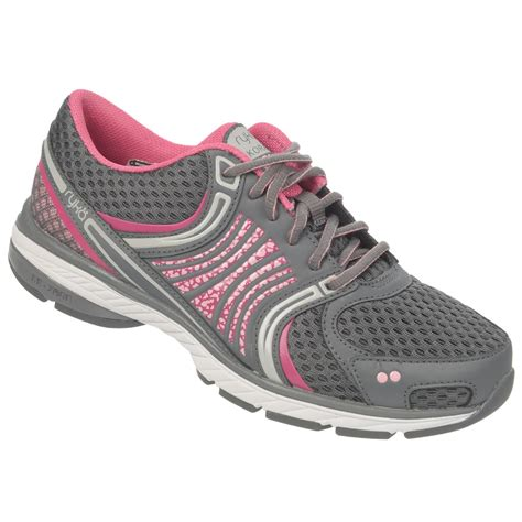 is ryka a running shoe ryka s kora gray pink running shoe shop your way