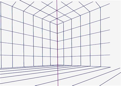 Drawing Grid by Perspective Drawing Grid