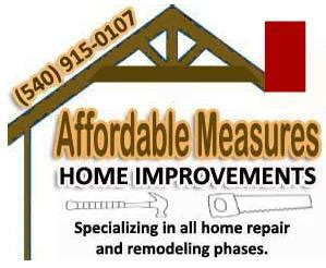 affordable measures home improvements located in roanoke