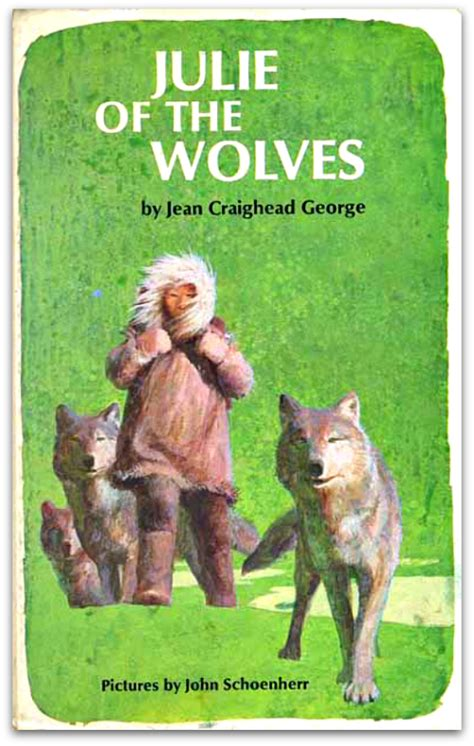 julie of the wolves julie of the wolves 1 by jean covering the newbery 52 julie of the wolves