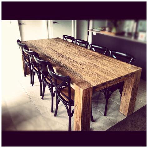 Railroad Tie Dining Table 29 Best Images About Railroad Tie Projects On Furniture Industrial Dining Tables