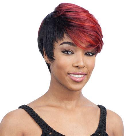 model model wig for black women model model premium synthetic wig lennon at