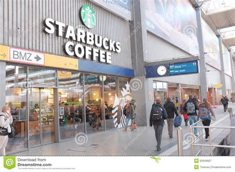 Coffee Di Starbuck royalty free stock photography starbucks munich central