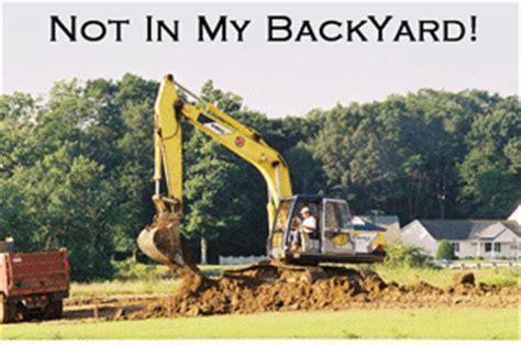 nimby not in my backyard provinzpolitik not in my back yard