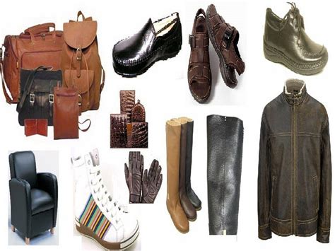 types of leather products that are popular skmmr
