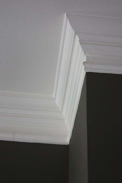 houseography crowning glory adding crown molding in our 1000 images about molding and door casing ideas on