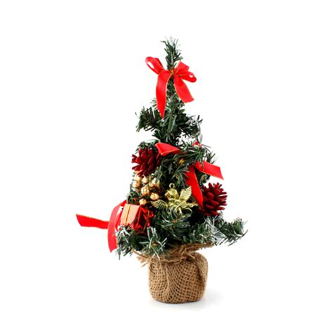 christmas gufts for desk mates 10 quot mini desk top office bedroom artifical tree with base gift ebay