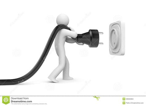connect the electrical outlet to the power cable on a
