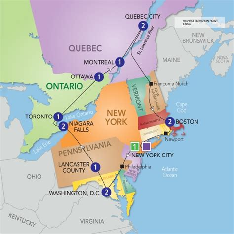 map of eastern usa and canada east coast usa map with cities www proteckmachinery
