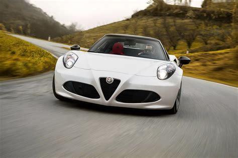 Who Makes Alfa Romeo by Alfa Romeo 4c Spider Makes Debut In Giallo Yellow