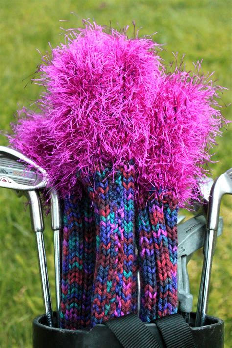 knit golf covers knit golf covers pattern a knitting