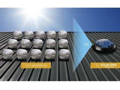 choosing   solar roof ventilator architecture