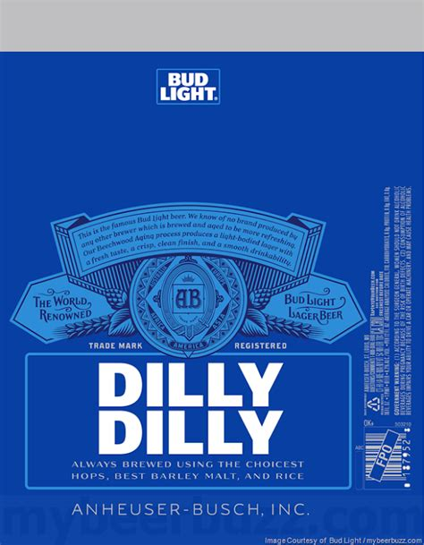 what is the abv of bud light bud light adding dilly dilly packaging mybeerbuzz