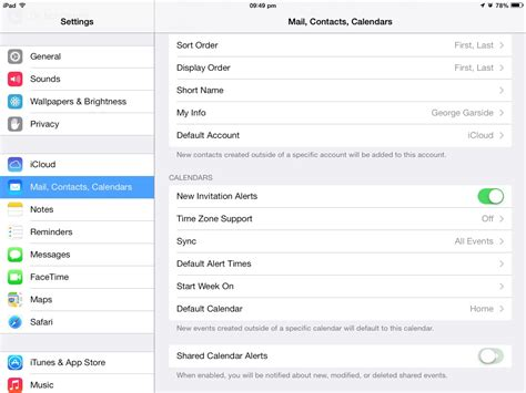 Calendar Shared Notifications How To Turn Ios Calendar Notifications For Icloud