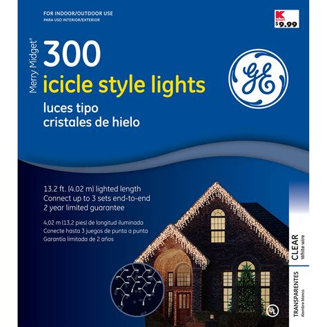 ge icicle lights ge lights buy general electric led