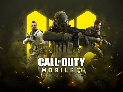 wallpaper call  duty mobile   games