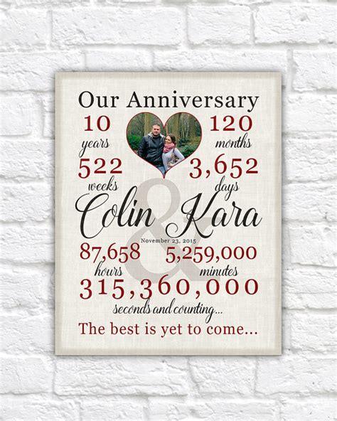personalized anniversary gift paper wedding anniversary