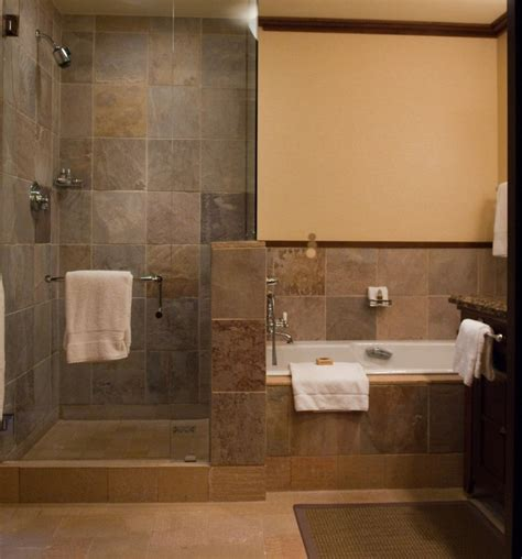 open shower bathroom pros and cons of doorless shower on your home