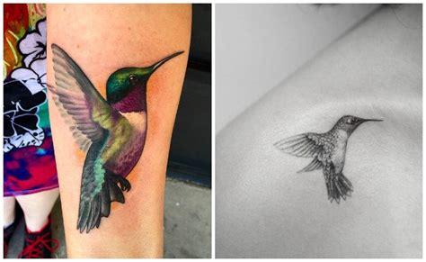 tatuajes de colibr 237 que se mueven a la velocidad del rayo