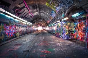 Amazon Wall Murals graffiti tunnel under waterloo station guardianwitness