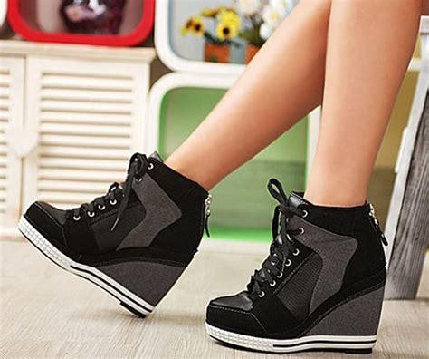 high heels and sneakers high heel wedge sneakers sneaker platform high heels