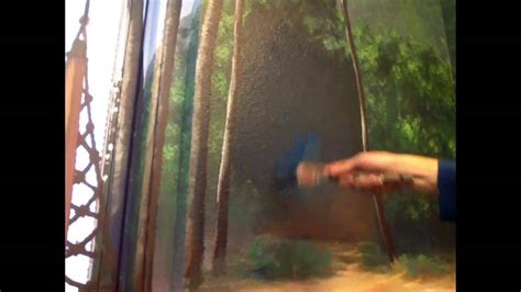 paint forest background mural joe youtube