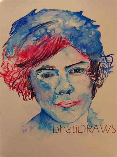 one direction painting harry styles painting one direction fan 33614623