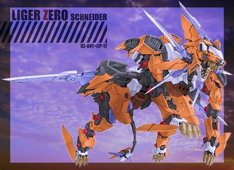 Kaos Anime Liger Zero zoids zerochan anime image board