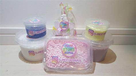 Slime Kit Slime slime kit brindes 5 tipos de slimes r 119 99