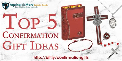 5 top confirmation gift ideas