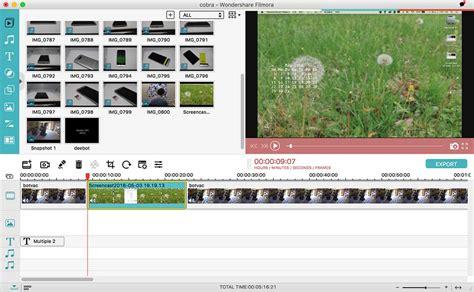 filmora editor tutorial wondershare filmora video editing software review the