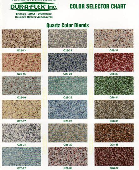 epoxy floor paint color chart gurus floor