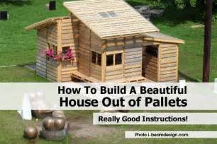 How To Make A House How To Build A Beautiful House Out Of Pallets
