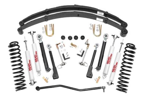 Jeep Xj Suspension Lift Kits Country Jeep Xj 4 5in X Series Suspension