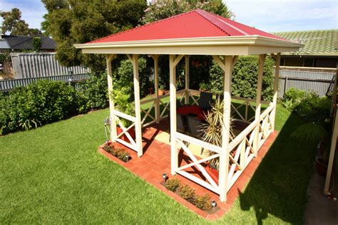 custom built gazebo pergolas gallery softwoods