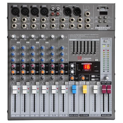 Professional Mixing Console Mx8 8 Channel Re Diskon usb dj mixer reviews shopping usb dj mixer reviews on aliexpress alibaba