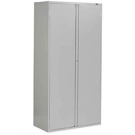 Metal Storage Cabinets With Doors 2 Door Metal Storage Cabinet