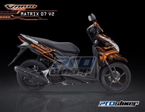 Stiker Striping Motor Yamaha X Ride 2015 Orange new vario techno 125 pgm fi car interior design